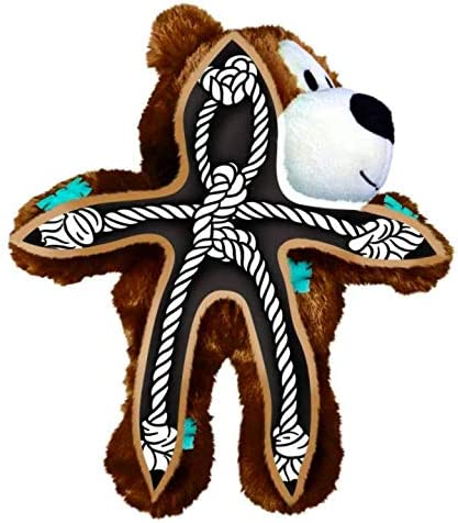 Wild Knots Bears Durable Dog Toys Size:Small//Med Pack of 2
