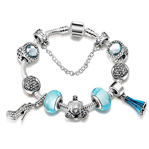 eccosa-high-heel-alsa-dress-bead-crown-charms-bracelets-for-women-blue-murano-beads-5-sizes