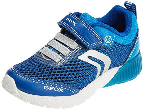 Geox Sveth B, Zapatillas Para Niños Azul (Royal/lt Blue)