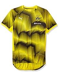 Puma BVB Stadium - Playera de Manga Corta para Hombre con Logotipo de  patrocinador dcd6ca202fcf8