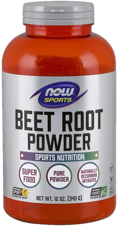 NOW Sports Nutrition, Beet Root Powder, Super Food With Naturally Occurring Nitrates*, 12-Ounce