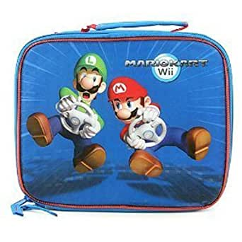 mario kart wii lunch tote bag clothing. Black Bedroom Furniture Sets. Home Design Ideas