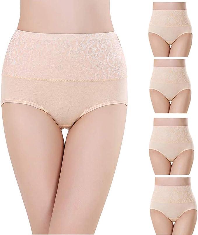 wirarpa Bragas de Algodon Mujer Braguitas Culottes C/ómodo Pantalones