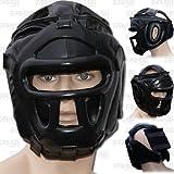 Boxing Head Guard Head Protection Mma Muay Thai Kickboxing Training Head Gear (Large)