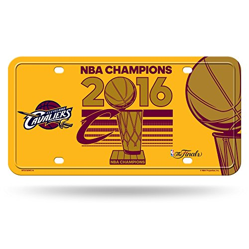 Rico NBA Cleveland Cavaliers 2016 Champions Metal Auto Tag by Rico
