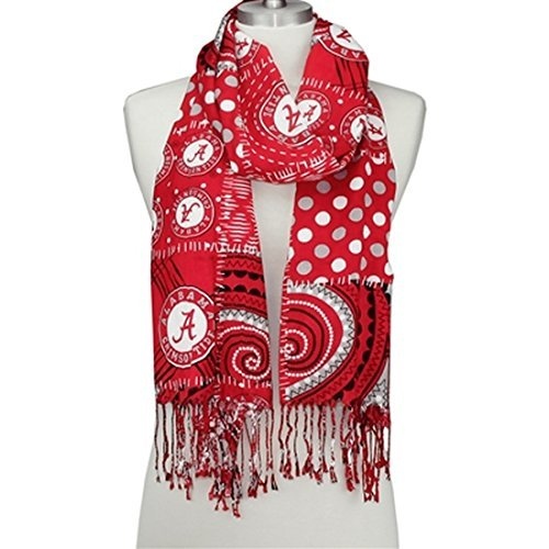 Sports Team Accessories Alabama Crimson Tide Mixed Print Scarf
