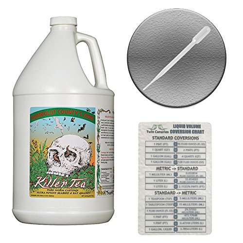 EMERALD TRIANGLE HUMBOLDT COUNTY'S OWN KILLER TEA + Twin Canaries Chart & PIPETTE - 1 (Twins Tea)