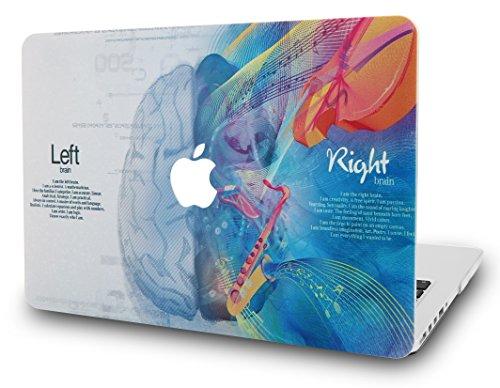 KEC-MacBook-Air-13-Inch-Case-Plastic-Hard-Shell-Cover-A1369-A1466-Brain-3