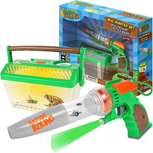 Bug Catcher Vacuum with Light Up Critter Habitat Case