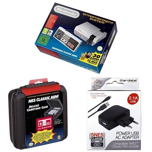 Nintendo NES - Consola Classic Mini + Funda de transporte: Amazon.es: Videojuegos