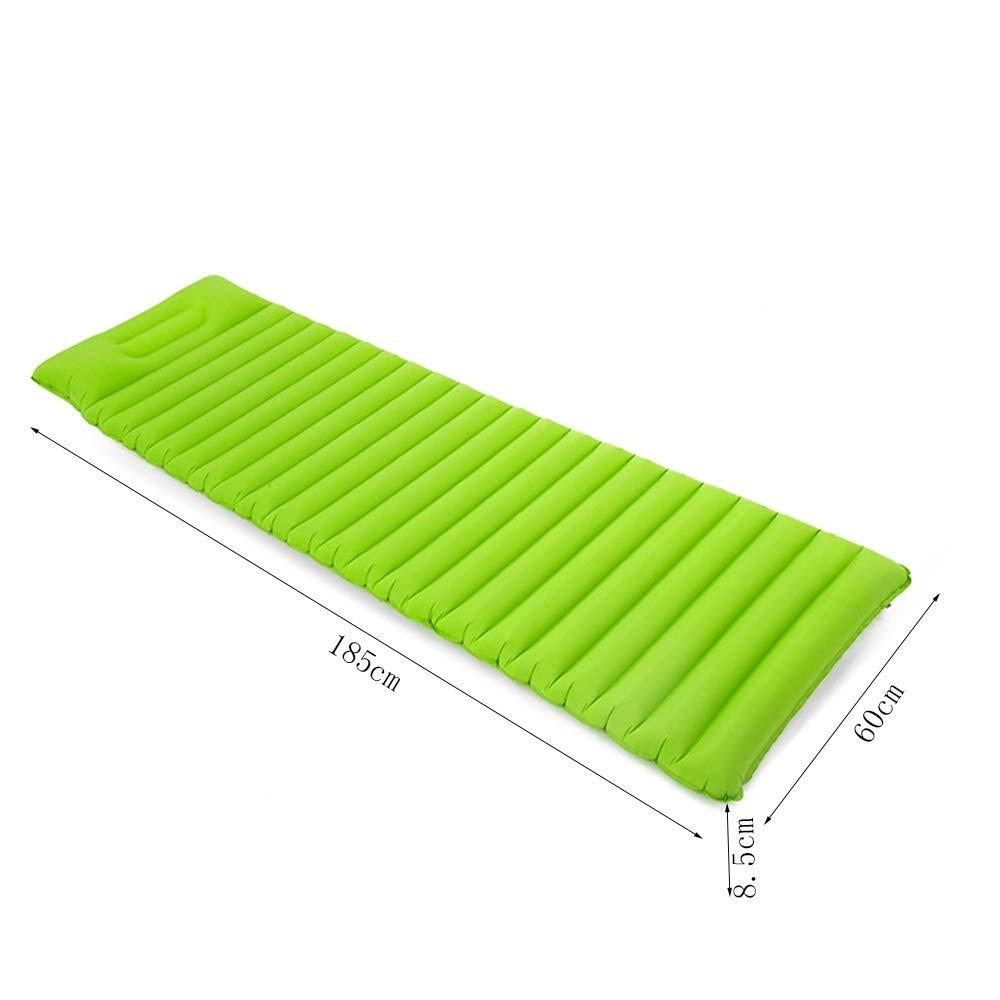 LISAWEI Picknickdecke Im Freien FeuchtigkeitsBesteändige Teppich Teppich Teppich Tragbare Strand Rasen Einzelne Dicke Aufblasbare Reisematte 185x60x8.5cm (Farbe   Blau) B07PM23R9L | Verkauf  5f18cc