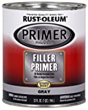 Rust-Oleum Automotive 254863 32-Ounce Filler Primer Quart, Gray