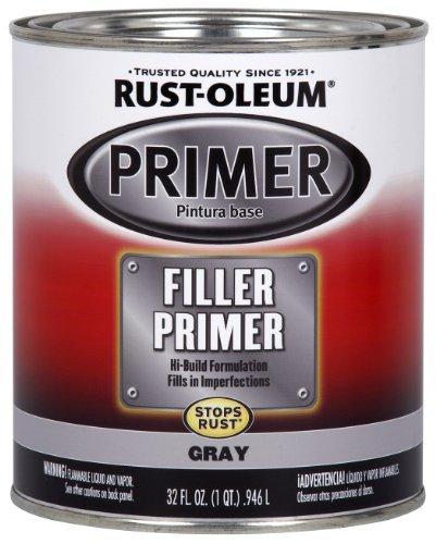 (Rust-Oleum Automotive 254863 32-Ounce Filler Primer Quart, Gray)