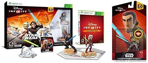 Disney Infinity 3.0 Edition Starter Pack Bundle - Amazon Exclusive - Xbox 360 (360 Pack Xbox Bundle)