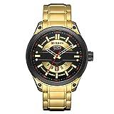 Chirpa Waterproof Calendar Quartz Watch Round True Single Eye Men's Business Watch