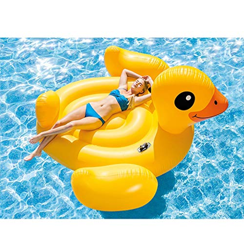 SUN HUIJIE Floats Giant Inflatable Tropical Duck Pool Float - Fun Kids Swim Party Toy - Summer Lounge Raft (Size : 221221122cm) by SUN HUIJIE (Image #2)