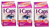 Icaps Lutein and Omega-3 Eye Vitamin and Mineral Supplement 3Pack 90 softgels Total Discount