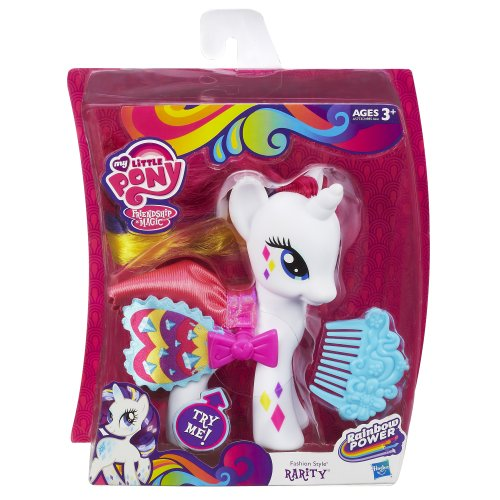 My Little Pony Fashion Style Rarity Pony Figure Toys Games Toys Dolls Playsets Toy Figures