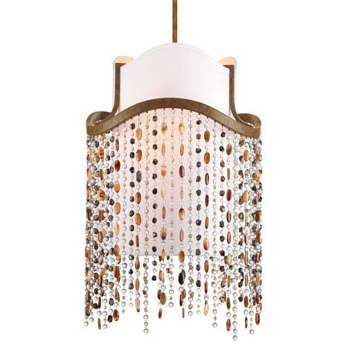 Progress Lighting P3967-111 Dance 3 Light Contemporary Foyer Pendant in Desert S by Progress Lighting