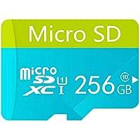 Tarjeta Micro SD de alta velocidad de 256 GB diseñada para teléfonos inteligentes Android, tabletas Clase 10 SDXC…