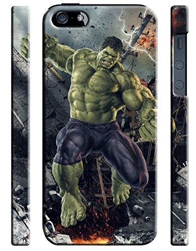 Hulk for Iphone 5 5s Hard Case Cover (hulk6)