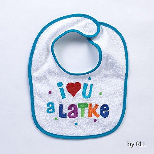 Chanukah Bib - I Love You A ()