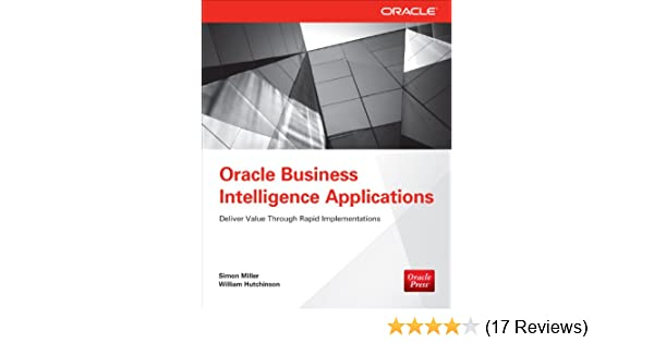 Amazon com: Oracle Business Intelligence Applications