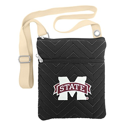 Gym Bag Bulldogs State Mississippi (Littlearth NCAA Mississippi State Bulldogs Chev-Stitch Cross Body)