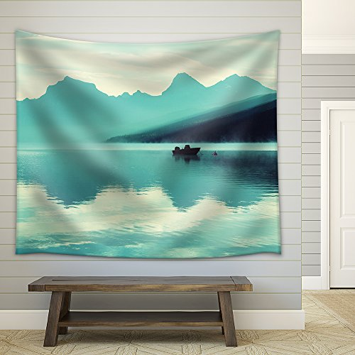 Glacier National Park Montana Fabric Wall