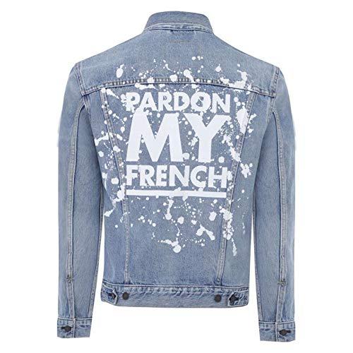 Mio Jeans Cielo Levis Blu Paradón Qualità Motociclista Alta Uomini Di Francese Di Giacca 6EEzq4nwBx
