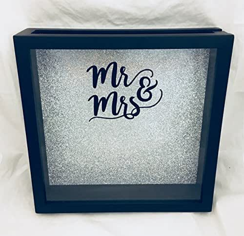 Cork Wedding Memory: Amazon.com: 12x12 Mr & Mrs Wedding Guest Book Shadow Box
