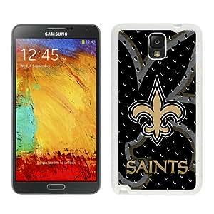 DIY Custom Phone Case For Samsung Note3 New Orleans Saints 001 White Phone Case For Samsung Galaxy Note 3 N900A N900V N900P N900T