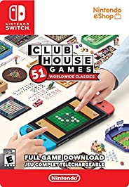 Clubhouse Games: 51 Worldwide Classics Standard - Switch [Digital Code]