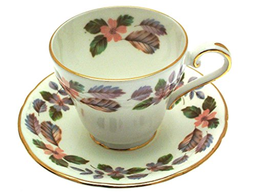 Aynsley April Rose Cup and Saucer