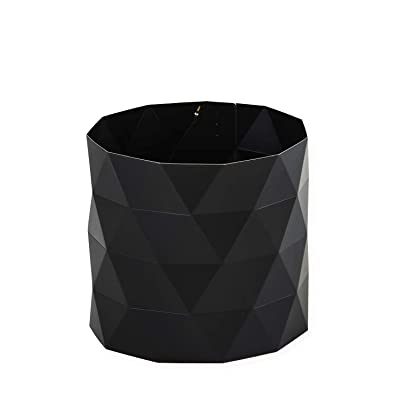 "Pot Pants Plant Pot Surround 12"" x 12"" x 12"" Single Black: Garden & Outdoor"