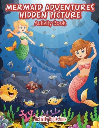 Download Mermaid Adventures Hidden Picture Activity Book PDF