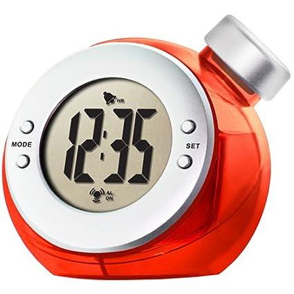 Wiki - Reloj accionado por agua, color rojo