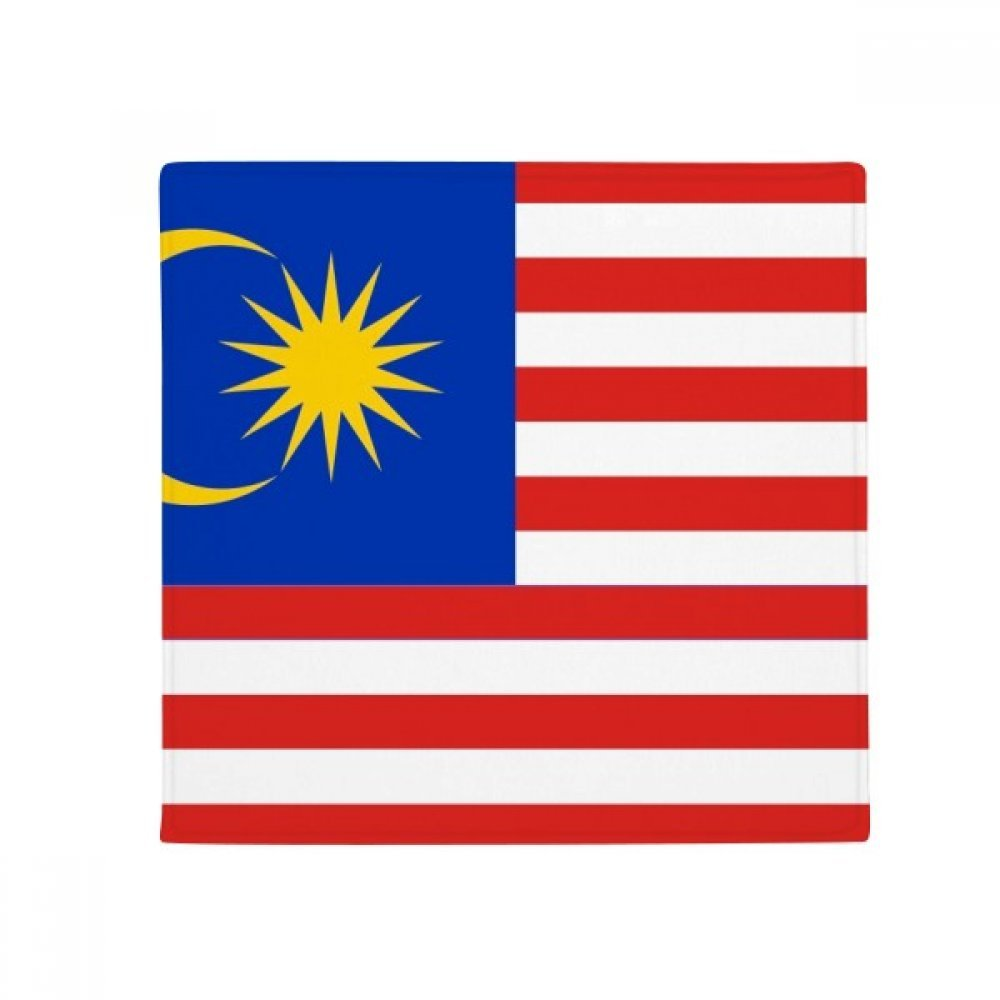 DIYthinker Malaysia National Flag Asia Country Anti-Slip Floor Pet Mat Square Home Kitchen Door 80Cm Gift