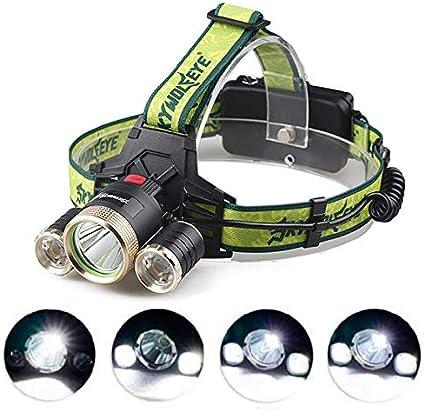linterna para el hogar y las actividades al aire libre superbrillante Linterna LED GiareBeam 5 modos de funcionamiento con 15 CREE XM-L T6 15000 l/úmenes resistente al agua