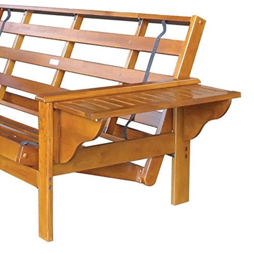 Winston Complete Futon Frame Size: Queen, Finish: Hickory price