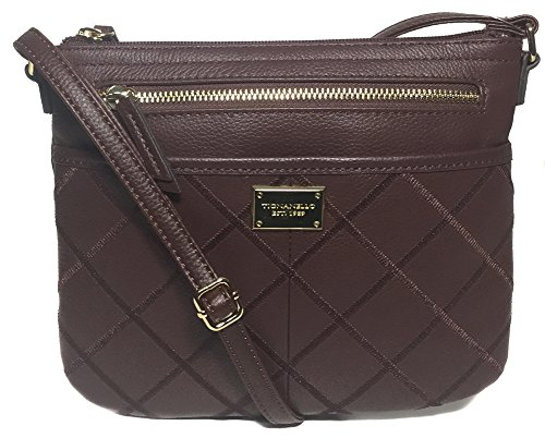 Tignanello Showstopper Cross Body, Raisin
