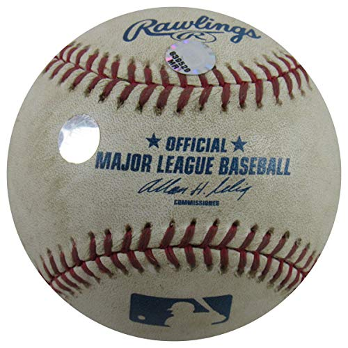 NY METS @ YANKEES GAME USED 2005 BALL GLAVINE HENN CANO CLIFF FLOYD DAVID WRIGHT