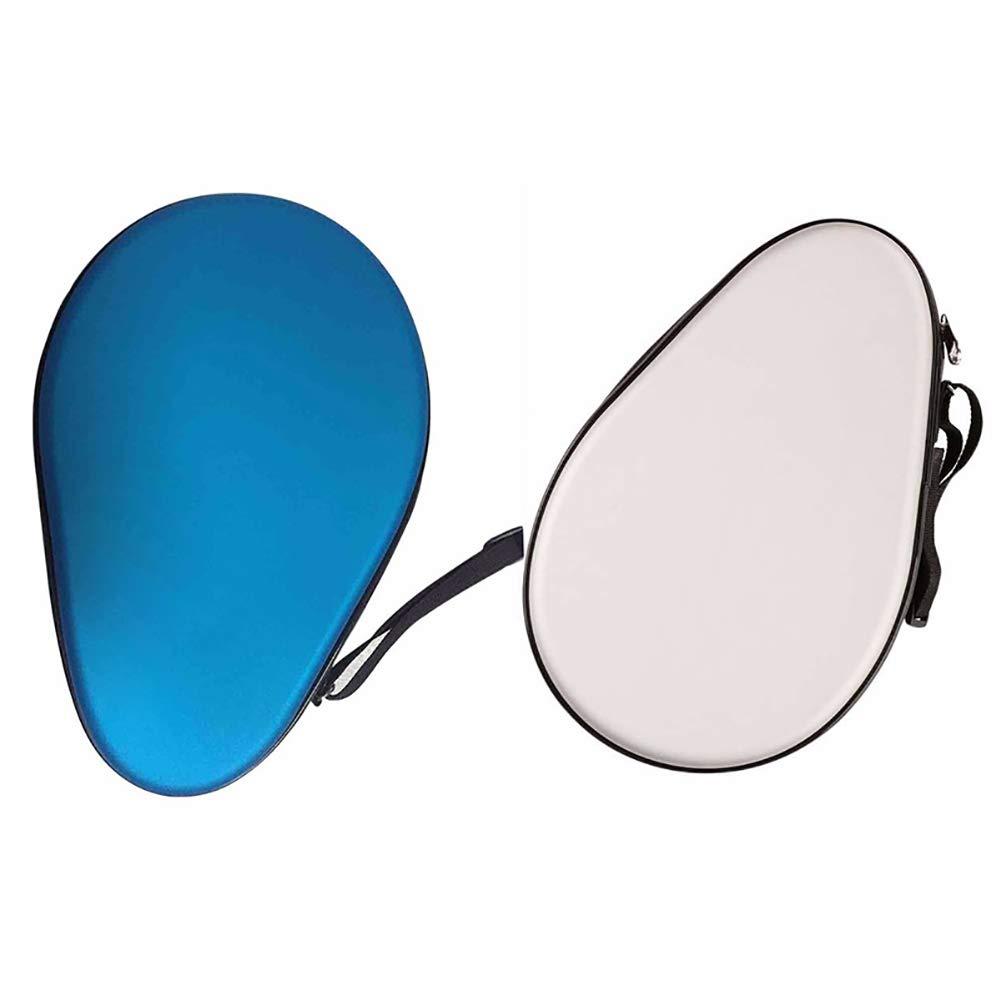 LBgrandspec Waterproof Table Tennis Racket Case Bag Ping Pong Paddle Bag Cover Pouch Holder Table Tennis Racket Cover Hard Racket Bag