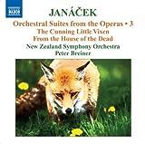 Janacek: Operatic Orchestral Suites, Vol. 3 by Janacek, New Zealand Symphony Orchestra, Breiner (2009-08-25)