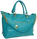 Steve Madden Bstanlee Tote,Turquoise,One Size, Bags Central