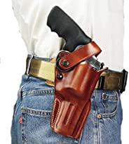 Galco International Dual Action Outdoorsman Holster for S and W L FR 686, 4-Inch