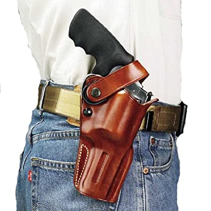 Amazon.com : Galco Dual Action Outdoorsman Holster for S&W L FR 686 ...