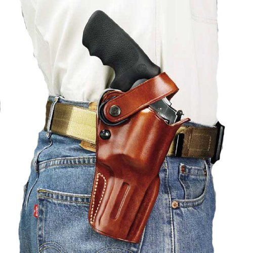 Galco Dual Action Outdoorsman Holster for S&W L FR 686 6-Inch (Tan, Right-Hand)
