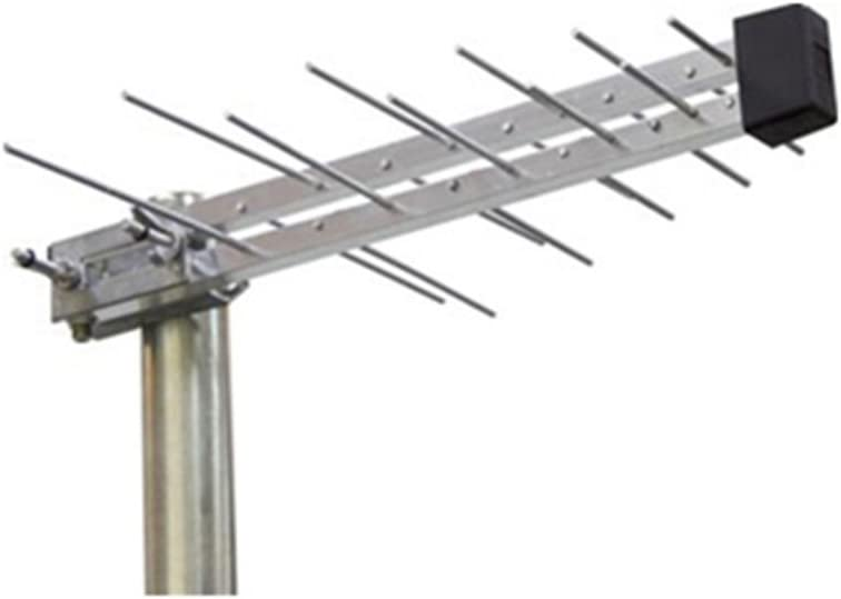 SAC Electronics – Mini Antena Digital compacta con Registro Freeview, LTE/4G protegida, Ideal para Todo Tipo de instalaciones aéreas para el hogar, ...