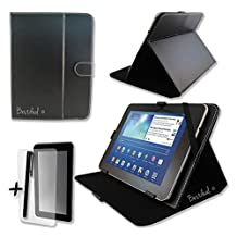 """Bestdeal Black PU Leather Case & Stand PIPO X9 9"""" inch Tablet PC + Screen protector and Stylus Pen"""